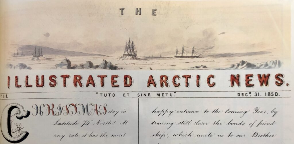 The Illustrated Arctic News December 1850 Christmas Day