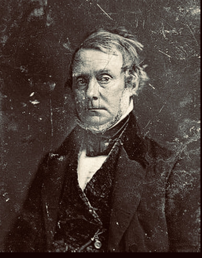 a photograph of shipping and whaling magnate Henry Grinnell in the blog about his role in the searches for Franklin and in HMS Resolute's story